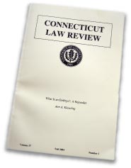 Connecticut Law Review Stem Cells