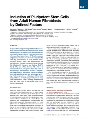 induced pluripotent stem cells