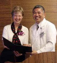Dr. Kiessling and Dr. Shyr